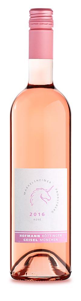 Getränkeaufnahme rose Wein Produktfoto