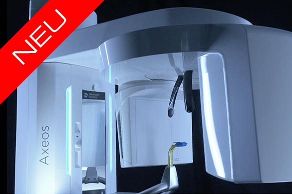 Werbevideo über ein Röntgengerät der Firma Sirona mit der Bezeichnung Axeos